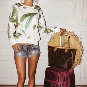 H&M Leaf sweater